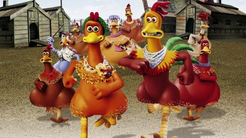 "Non pas ""chicken run"" mais ""Why chicken run"""