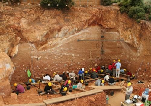 Le site d'Atapuerca. Crédits