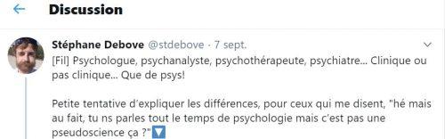 Psys : différence entre psychologue, psychanalyste, psychothérapeute, psychiatre…