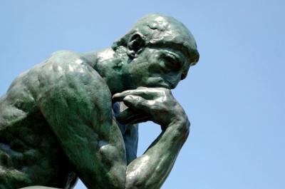 rodin penseur statue