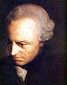Emmanuel Kant portrait
