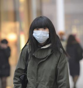 masque pollution asie